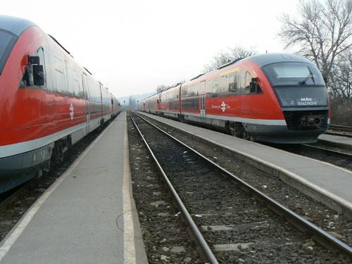 vonat, vasút, Esztergom, Budapest, vágányzár, pályafelújítás