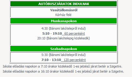 Új helyijárat menetrend Esztergomban június elsejétől