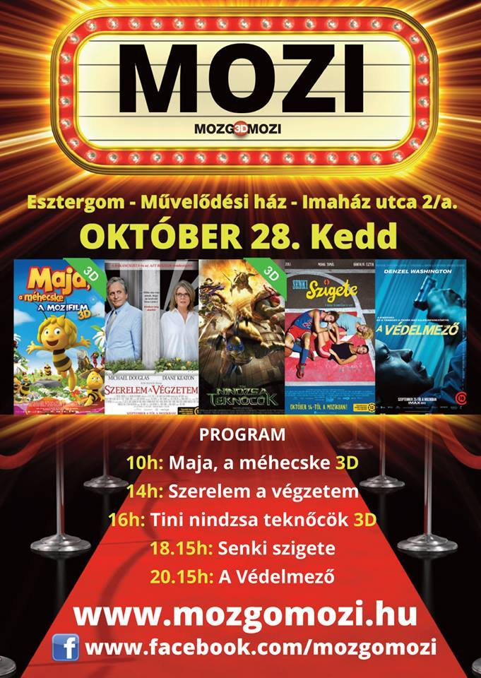 Újra mozi Esztergomban – premierek 3D-ben