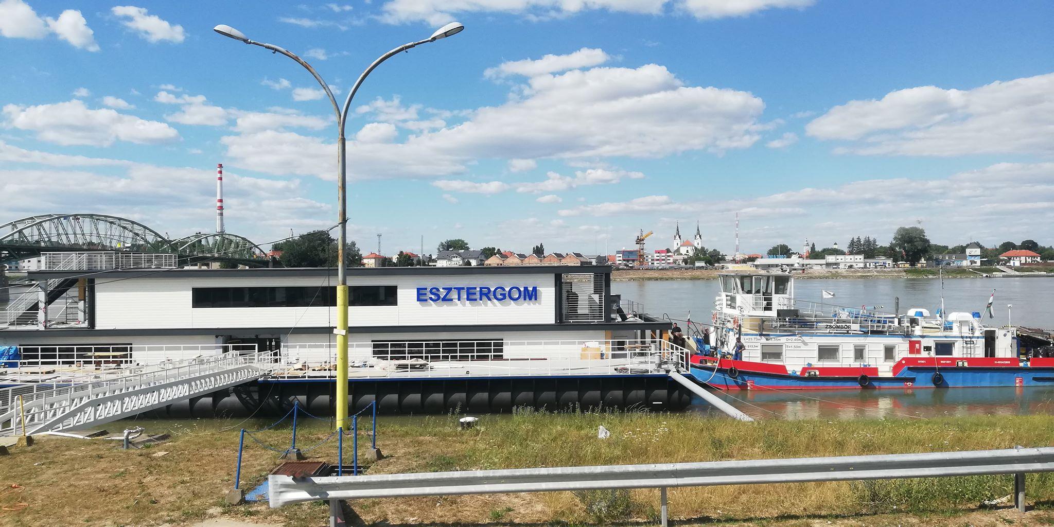 Hazatér a felújított Esztergom kikötőhajó | Hírek ...
